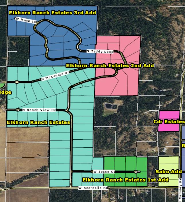 subdivision community elkhorn Ranch
