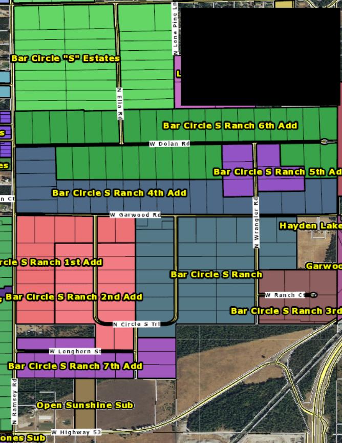homes for sale in Bar circle S Post Falls North Idaho