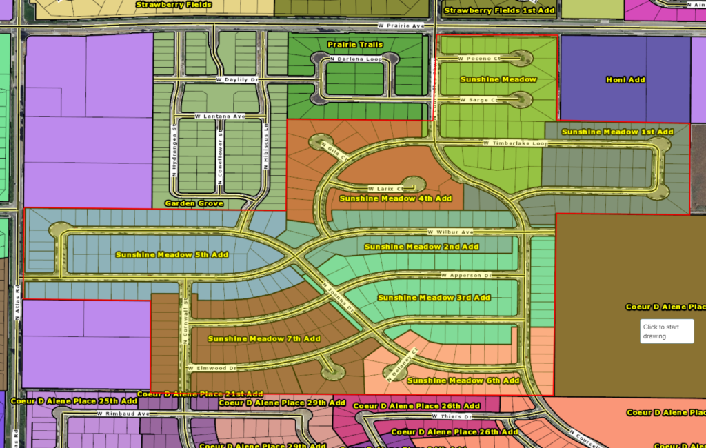 Homes for sale in Sundhine meadows