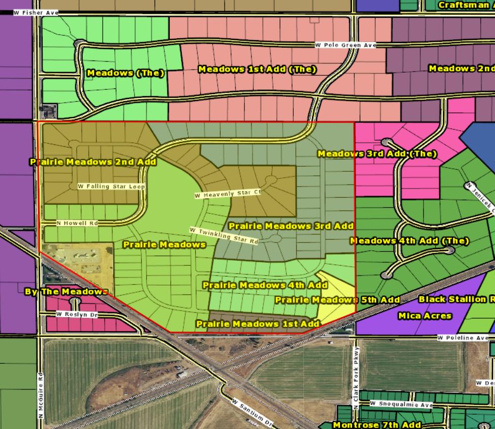 Homes for sale in Prairie Meadows Post Falls North Idaho